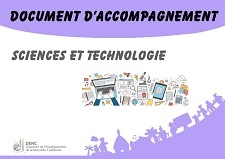 Documents d'accompagnement Science et technologie